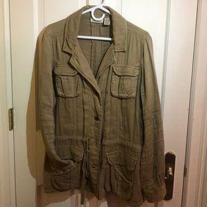 DKNY JEANS light tan jacket